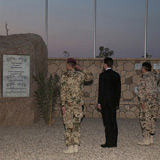 Vor Ort in Afghanistan - Trauer im Camp Marmal