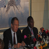 "Piraterie am Horn von Afrika -  Außenminister Lavrov in Kenia: ""Why now?  Better than never!"""